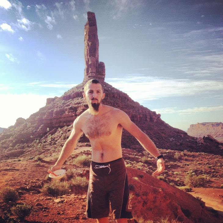 Hot Man Does Mountain