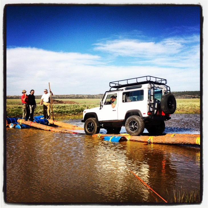 Land Rover Water Crossing
