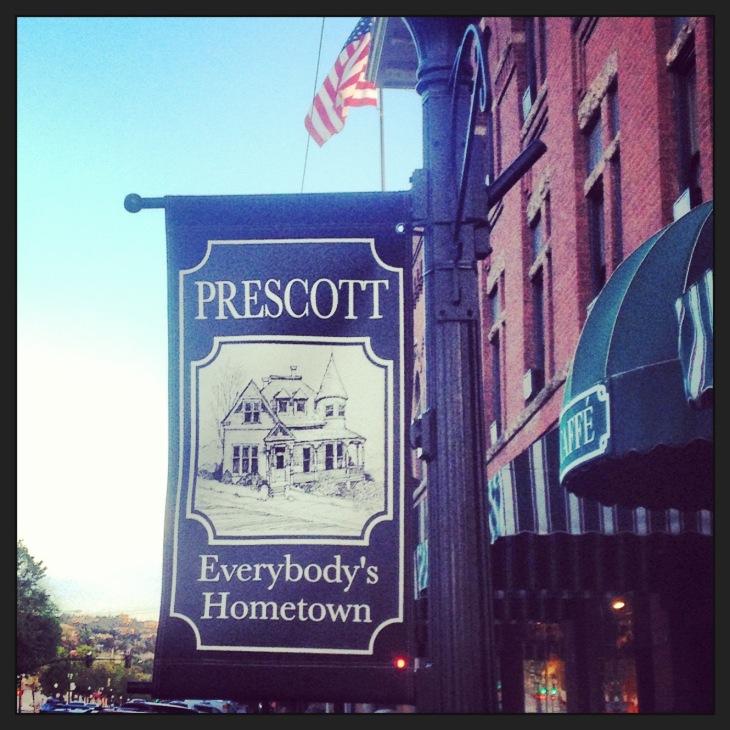 Prescott Sign