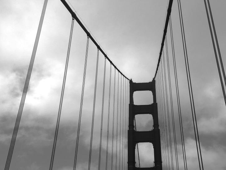 BnW Golden Gate