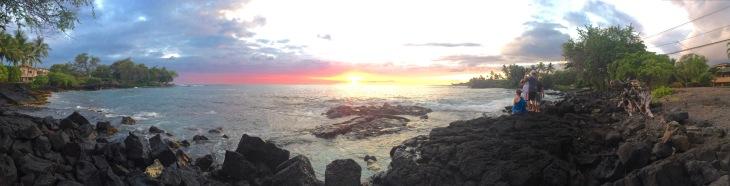Beach Sunset Hawaii