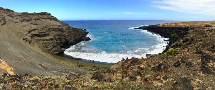 Green Sands Beach Hawaii