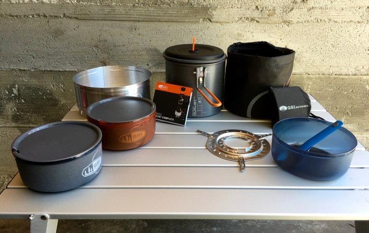 GSI Outdoors Pinnacle Dulalist Complete Camp Cookware